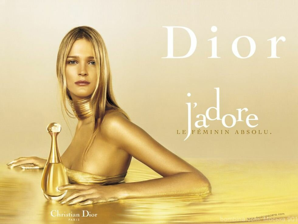 womens perfume magazine ad analysis