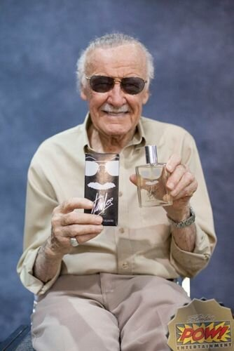 Stan Lee Signature Cologne